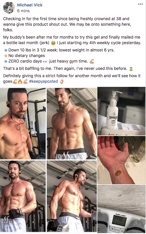 NewULife HGH Gel Before After- HGHGelSupplements.com